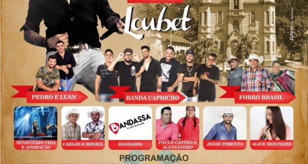 PROGRAMAÇÃO FESTA2019