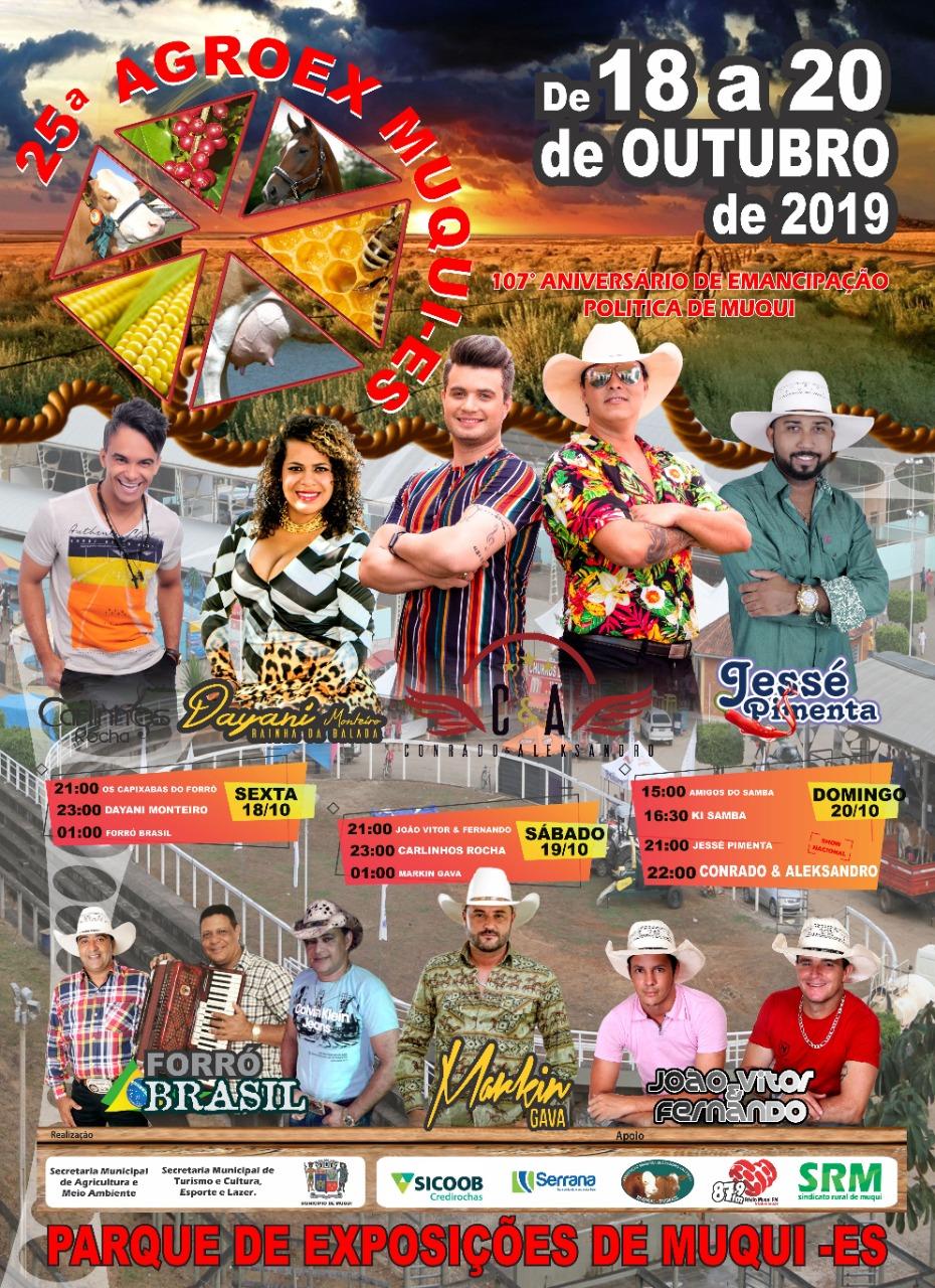 25º AGROEX MUQUI – 2019