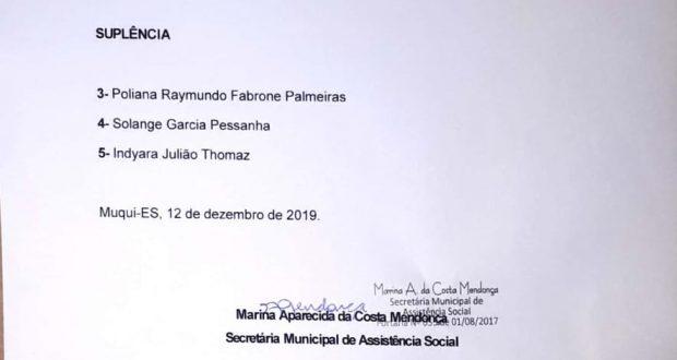 Resultado Parcial de  Classificação do Edital de Chamamento Público n. 08.